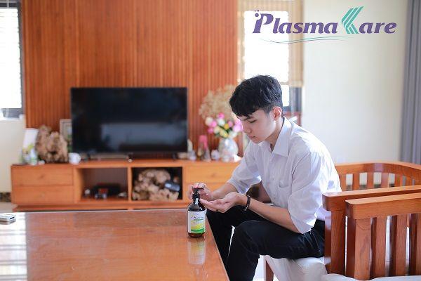 Hướng dẫn sử dụng gel rửa tay khô PlasmaKare 1