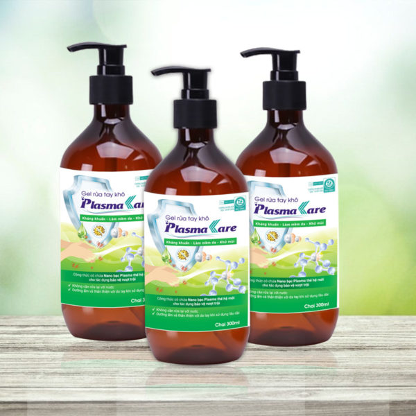 Những thông tin cơ bản về gel rửa tay khô PlasmaKare 1