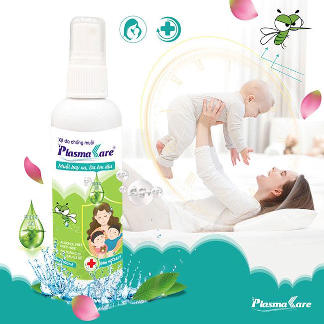 Xịt chống muỗi PlasmaKare chứa dầu Neem organic ép lạnh 2