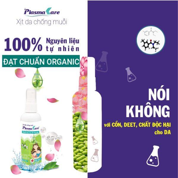 Hiệu quả của Xịt chống muỗi PlasmaKare 1